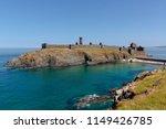 peel castle on a summers day ... | Shutterstock . vector #1149426785