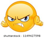 Mad And Angry Emoticon