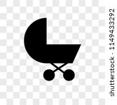 baby carriage vector icon on... | Shutterstock .eps vector #1149433292