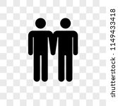 males couple vector icon on... | Shutterstock .eps vector #1149433418