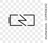 charging battery vector icon on ... | Shutterstock .eps vector #1149436142