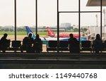 donmuang international airport  ... | Shutterstock . vector #1149440768