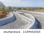 construction site for a new road | Shutterstock . vector #1149442565