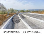 construction site for a new road | Shutterstock . vector #1149442568