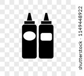 sausages vector icon on... | Shutterstock .eps vector #1149448922