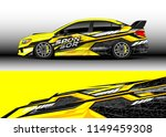 car wrap design vector  truck...   Shutterstock .eps vector #1149459308