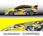 car wrap design vector  truck... | Shutterstock .eps vector #1149459362