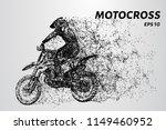 motocross particles. motocross... | Shutterstock .eps vector #1149460952