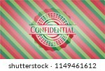 confidential christmas style... | Shutterstock .eps vector #1149461612