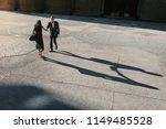 businesswoman and a businessman ...   Shutterstock . vector #1149485528