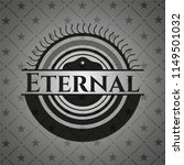 eternal retro style black emblem | Shutterstock .eps vector #1149501032
