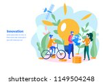 innovation  information and... | Shutterstock .eps vector #1149504248