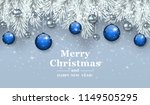 blue new year background with...   Shutterstock .eps vector #1149505295