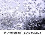 ice cover at glass  fractal ice ... | Shutterstock . vector #1149506825