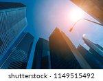 skyline of singapore city.... | Shutterstock . vector #1149515492