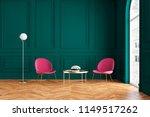 modern classic green interior... | Shutterstock . vector #1149517262