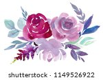 abstract bouquets  flowers ... | Shutterstock . vector #1149526922