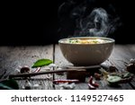 Noodles With Steam And Smoke I...