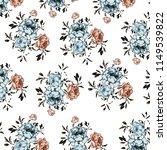 floral pattern in vector | Shutterstock .eps vector #1149539822