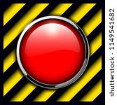 red alarm button background ... | Shutterstock .eps vector #1149541682