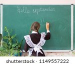 the inscription on the board ... | Shutterstock . vector #1149557222