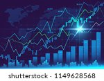 stock market or forex trading... | Shutterstock . vector #1149628568