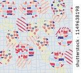 seamless abstract pattern... | Shutterstock .eps vector #1149638198