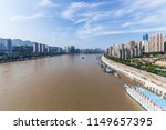 modern panoramic skyline of... | Shutterstock . vector #1149657395