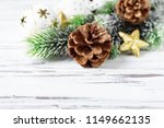 decoration for christmas on the ...   Shutterstock . vector #1149662135