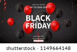 web banner for black friday... | Shutterstock .eps vector #1149664148