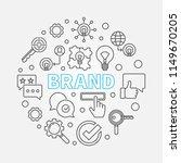 brand round vector minimal...   Shutterstock .eps vector #1149670205