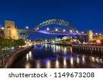 looking across the river tyne... | Shutterstock . vector #1149673208