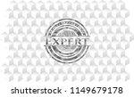 expert grey badge with... | Shutterstock .eps vector #1149679178