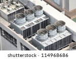 Exhaust Vents Of Industrial Ai...