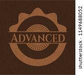 advanced wooden emblem | Shutterstock .eps vector #1149688052