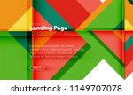 square shape geometric abstract ... | Shutterstock .eps vector #1149707078
