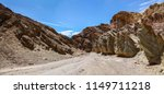 golden canyon trail in death... | Shutterstock . vector #1149711218