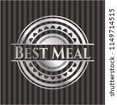best meal silver badge | Shutterstock .eps vector #1149714515