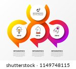 infographic design template.... | Shutterstock .eps vector #1149748115