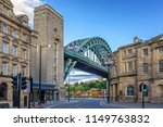 newcastle city centre with the... | Shutterstock . vector #1149763832
