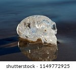 clear quartz carved elongated... | Shutterstock . vector #1149772925
