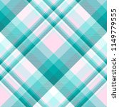 plaid pattern in teal  aqua ... | Shutterstock . vector #1149779555