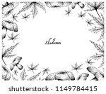 autumn tree  illustration hand... | Shutterstock .eps vector #1149784415
