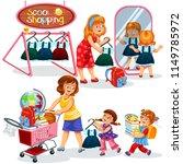 school shopping poster   Shutterstock .eps vector #1149785972