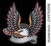 vintage eagle logo  vector eps... | Shutterstock .eps vector #1149792008