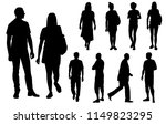 vector silhouettes men and... | Shutterstock .eps vector #1149823295