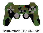 video game controller with... | Shutterstock .eps vector #1149830735