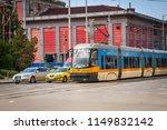 sofia  bulgaria. a modern tram...   Shutterstock . vector #1149832142