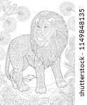 coloring page. coloring book.... | Shutterstock .eps vector #1149848135