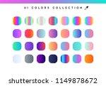 trendy soft color gradients...